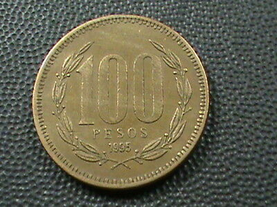 CHILE   100 Pesos   1995   ,   $ 2.99  maximum  shipping  in  USA