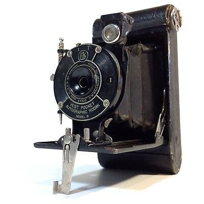 Vintage Mini Kodak Vest Model B Folding Camera