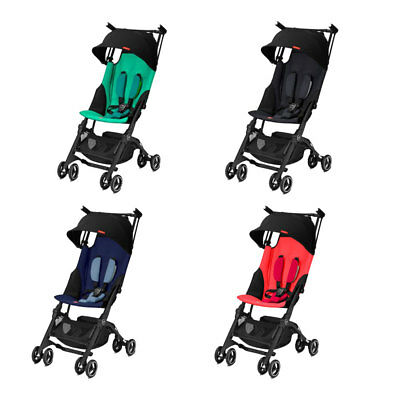 2018 GB Pockit +Plus Stroller Travel Stroller Compact Reclines Lightweight NEW