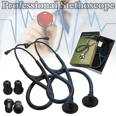 Professional Edition Cardiology Stethoscope 27.5'' Tunable Diaphragm 2 Colors