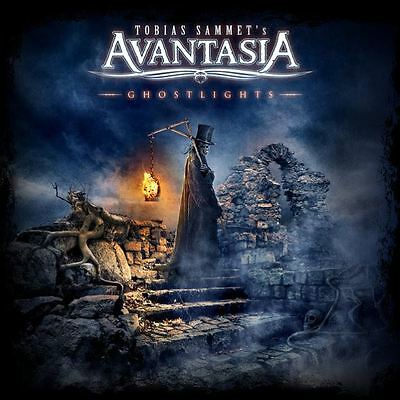 patch printed /Iron on patch, Back patch / Avantasia - Ghostlights