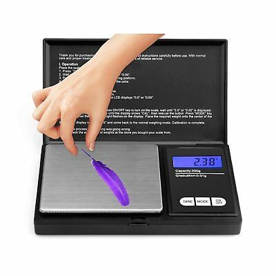 NEW Small Mini Pocket LCD Digital Micro Weighing Scales Jeweler Jewellery Scales