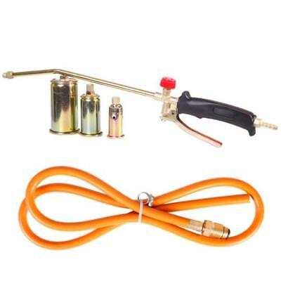 New Portable Propane Weed Torch Burner Fire Starter Ice Melter Melting w Nozzle