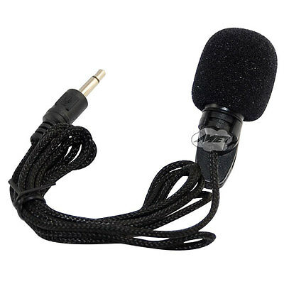 3.5mm Mini Lapel Clip Microphone Mic for Computer loudspeakers Tablet Hands Free