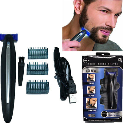 MicroTouch Micro Touch SOLO Rechargeable Razor Shaver and Trimmer