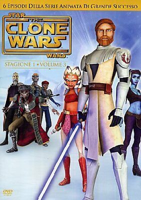 Dvd Star Wars - The Clone Wars - Stagione 01 #03