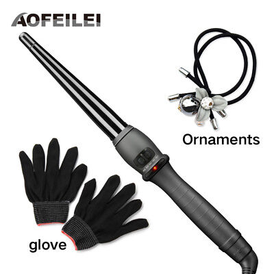 Aofeilei Hair Curling Iron Professional Hair Curling Wand With US,EU,UK Plug