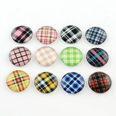 20 pcs Half Round Dome Mix Photo Glass Flatback Cabochons Craft for DIY Projects