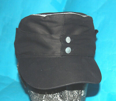 German Ww11 Style Elite Officer Summer Panzer M43 Field Cotton Cap (L)