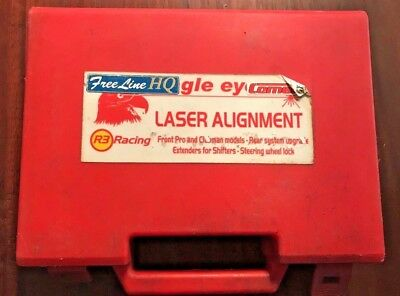 R3 Racing Front Alignment Laser w/ Rear System Upgrade & Chain Aligner - Karting