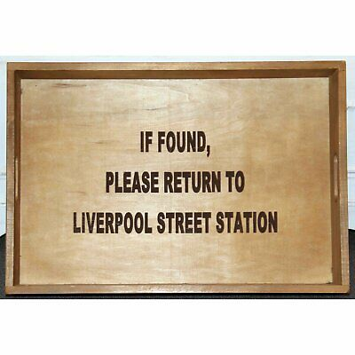 Set Of 3 Old Wooden Trays Stolen From And Return To Brixton Broadmoor Liverpool