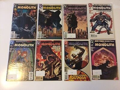 Run of 8 The Monolith #1 2 3 4 5 6 7 8 DC Comics (2004) VF/NM