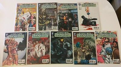 Lot of 9 Welcome To Tranquility #1,2,3,4,5,6,7,10 Wildstorm Comics (2007) VF/NM