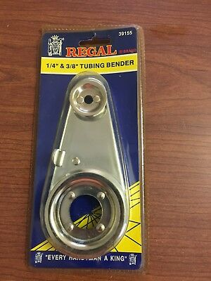 "Regal Brand 1/4"" & 3/8"" Tubing Bender  #39155 ~ Never used"