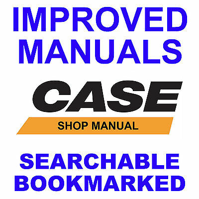 Case 580B 580ck B loader backhoe tractor SERVICE REPAIR MANUAL SEARCHABLE CD