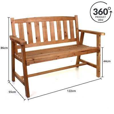 Incredible Wooden Bench Outdoor Garden Patio Furniture Seating Timber Ocoug Best Dining Table And Chair Ideas Images Ocougorg