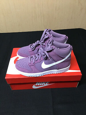 New Nike Youth Dunk High GS Shoes 308319-500 Violet Dust/White MANY SIZES