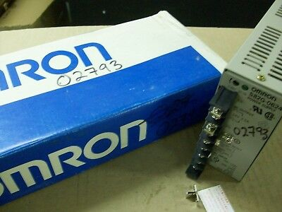 Omron   S82G-0624  Power Supply  24Vdc - 2.5A Output / 100-120 /200-240Vac Input