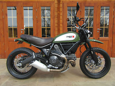 2015/15 Ducati Scrambler 800 Urban Enduro - LOW MILES, ***SORRY - NOW SOLD!!***