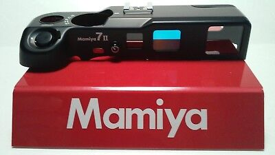 Mamiya 7 II (BLACK body) TOP COVER ASSEMBLY (NEW spare part)