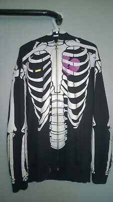 L R G Lifted Research Group Lrg Dead Serious Skeleton Hoodie Xxl