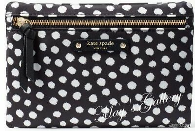 a625a19057f8 Kate Spade Handbag Wallet Cosmetic Bag Make Up Case Purse Pouch Jewel NWT