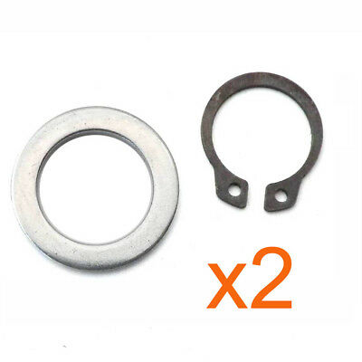 2 Sets Gasket kits of Kick Start Gear Shaft for 50 80cc GY6 139QMB Scooter