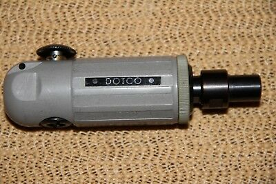NEW dotco 10B1000 series inline die grinder button start aircraft tool RARE