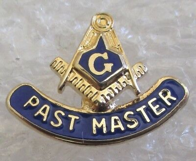 Freemason Past Master Award Pin-Mason Masonic Lapel/Hat Pin