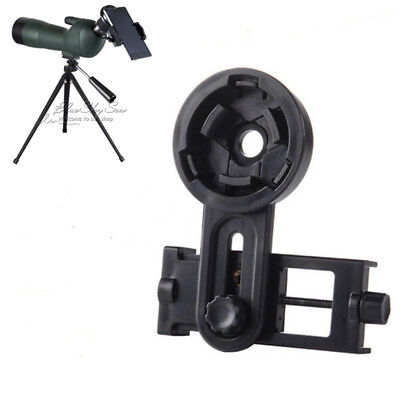 Cell Phone Adapter Bracket for Spotting Scopes Camera BirdWatching Microscope