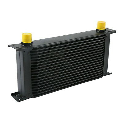 New Black Universal 19 Row An-10An Engine Transmission Racing Oil Cooler British