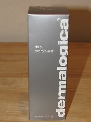 Dermalogica Daily Microfoliant 2.6 Oz Full Size 74 g Exfoliator Powder SEALED