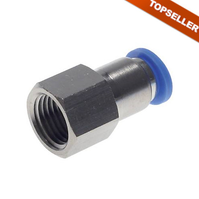 Pneumatic IQS Push-In Fitting with Inner Thread, All Sizes Connector, Air