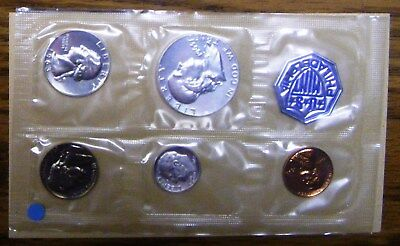 1963 U.S. Mint Silver Proof Set, Gem Coins - Philadelphia Mint