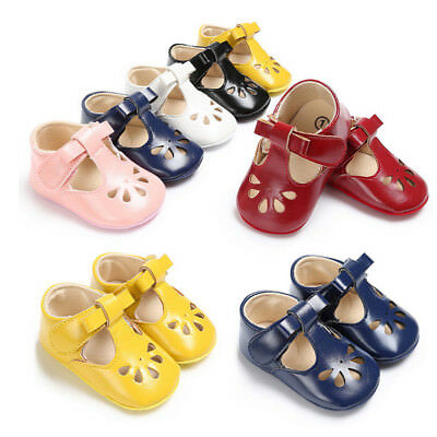 UK Soft Sole Sneakers Moccasins Leather Baby cute Kids Princess Shoes spring