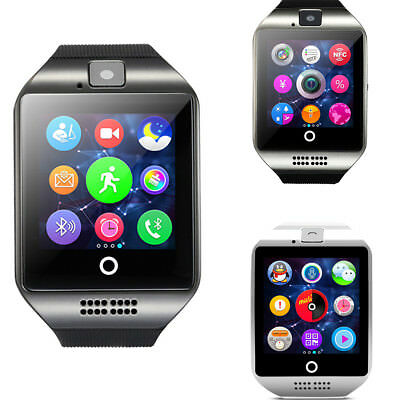 Waterproof Bluetooth Smart Watch TF/SIM GSM Phone Mate For IOS Samsung Android