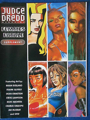 Judge Dredd Magazine - Femmes Fatale - 16 page Supplement - 1994