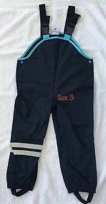 New Kids Toddler Winter Outdoor Pants Waterproof Overalls Girls Boys Size 3