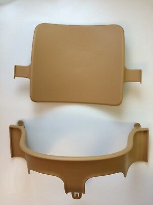 Stokke Tripp Trap Baby Chair Set Natural in excellent condition