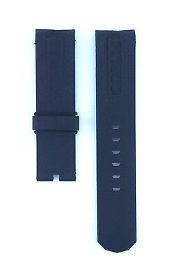 Corum Fit Admirals Cup For 44mm Case 22mm Black Rubber Watch Strap 437CRM