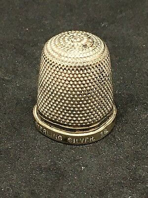 Sterling Silver Thimble. HG&S