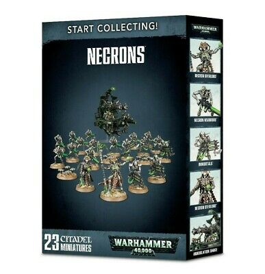 Start Collecting! Necrons Games Workshop Faction Box Warhammer 40,000 Brand New