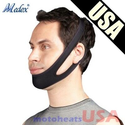 Snoring Chin Strap Stop Snore Belt Anti Apnea Sleep for Adults, Boys, Girls Kids