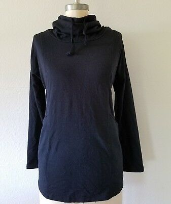 Old Navy Maternity Sweater Turtle Neck Black Size XS