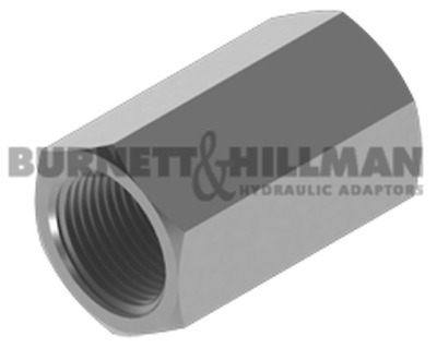 Burnett & Hillman Hydraulic NPTF Fixed Female x BSP Fixed Female Adaptor 4-32