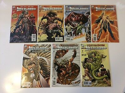 Run of 7 The Warlord #1 2 3 4 5 6 7  DC Comics (2006) VF/NM Lot