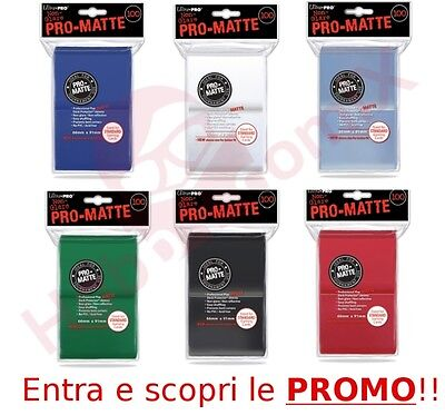 100 Bustine Protettive Standard per Carte Magic Mtg Pokemon Ultra PRO MATTE