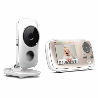 Motorola MBP667 2.8 Inch Screen Wifi Hubble Connect Smart Video Baby Monitor