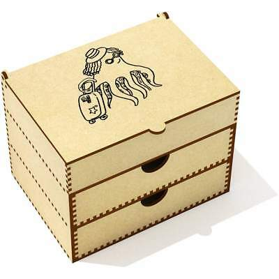 'Travelling Octopus' Vanity Case / Makeup Box (VC00015414)