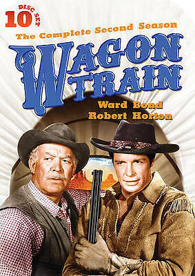 Wagon Train: The Complete Second Season (2) (Two) - 10 Disc Set -DVD- Brand NEW
